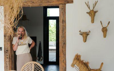Binnenkijken in een huis met een ibiza sfeertje….